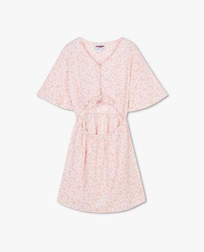 Roze jurk met print Steffi Mercie