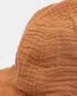 Breigoed - Bruin zonnehoedje van tetrastof