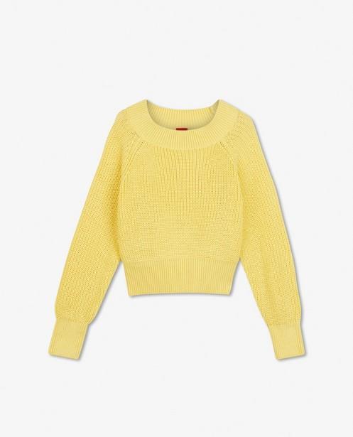 Pull jaune s.Oliver - en tricot - S. Oliver