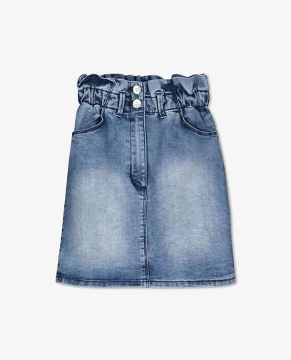 Jupe en jeans paperbag waist s.Oliver