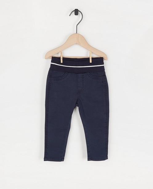 Skinny bleu s.Oliver - taille élastique - S. Oliver