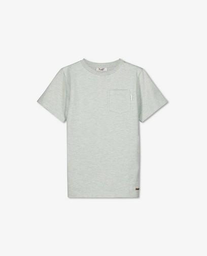 T-shirt vert menthe avec une poche de poitrine