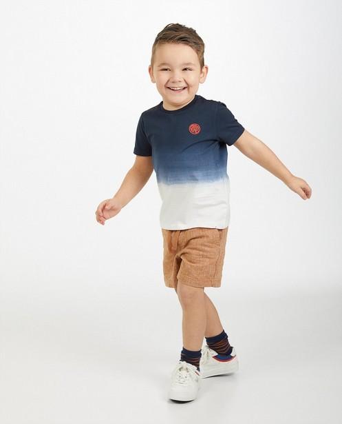 T-shirt avec un dégradé, 2-7 ans - bleu-blanc - Fish & Chips