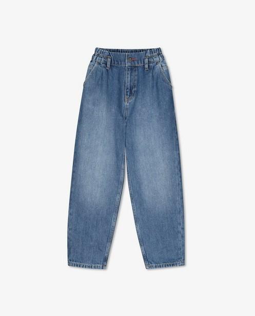 Blauwe slouchy jeans Blue Rebel - met verwassen effect - Blue Rebel