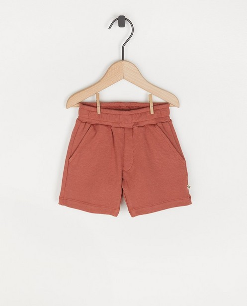 Short brun rouge côtelé Your Wishes  - avec du stretch - Your Wishes