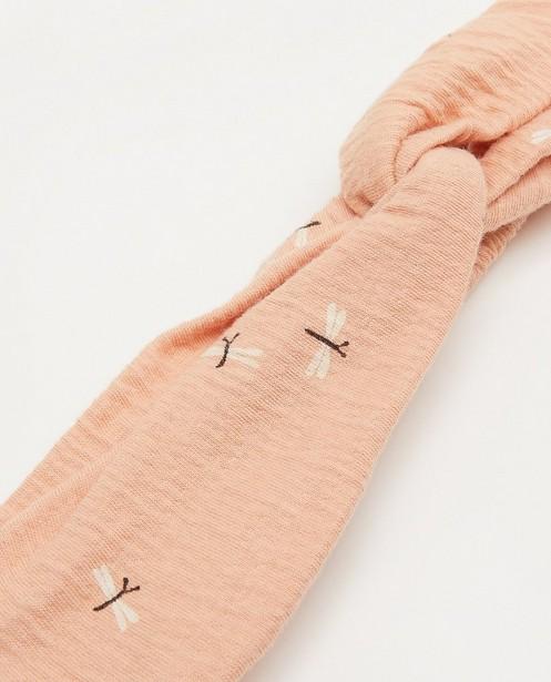 Bonneterie - Bandeau rose à imprimé Your Wishes