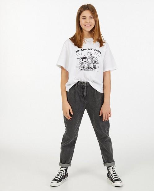 Oversized T-shirt met Snoopy-print - van biokatoen - Groggy