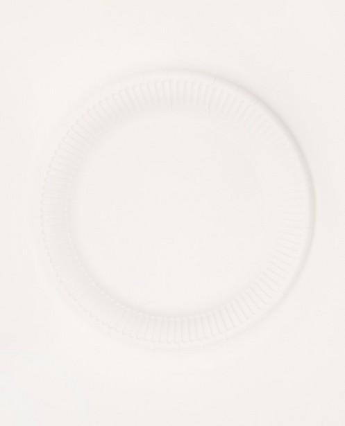 Lot de 10 assiettes en carton AVA x JBC - diamètre: 23cm - AVA x JBC