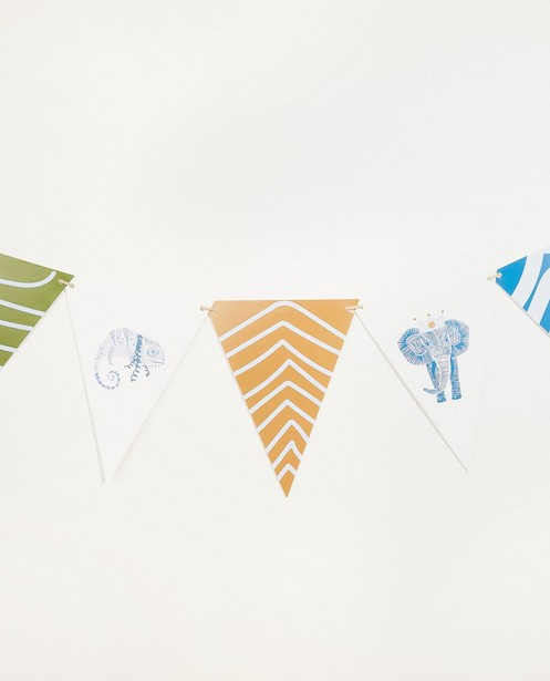 Guirlande avec 8 drapeaux AVA x JBC - JBC x AVA - AVA x JBC