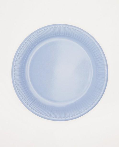 Lot de 8 assiettes en carton AVA x JBC - diamètre: 23cm - AVA x JBC