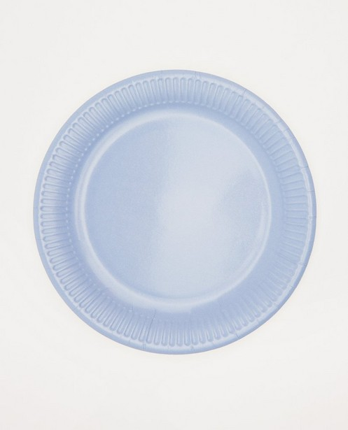Set van 8 papieren borden AVA x JBC - diameter: 23 cm - AVA x JBC