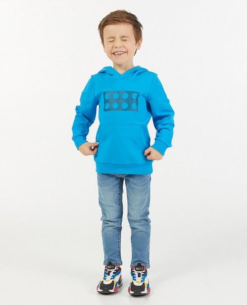 Blauwe hoodie met print Lego - met capuchon - Lego