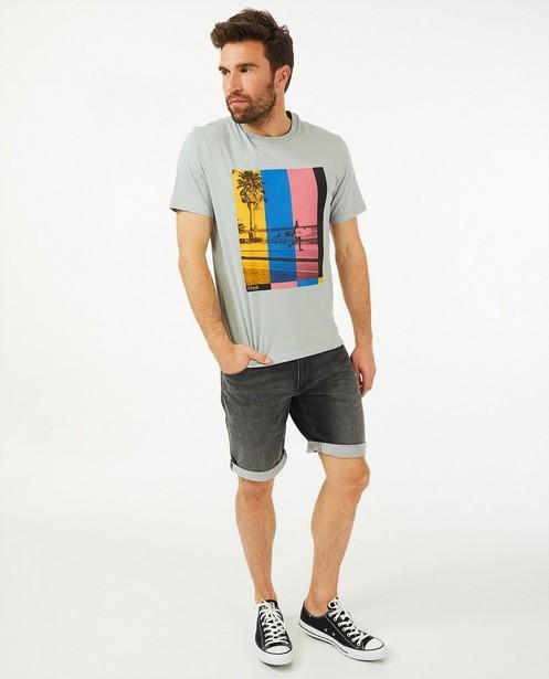 T-shirt gris, imprimé O'Neill - avec du stretch - O'Neill