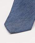 Cravates - Cravate bleue à micro-imprimé