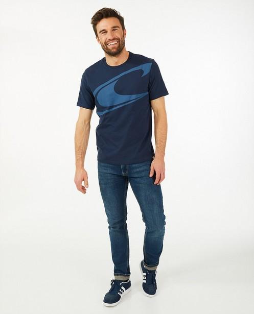 T-shirt bleu foncé avec logo O'Neill - uni - O'Neill