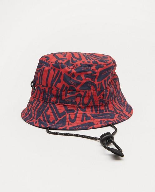 Chapeau réversible O'Neill - rouge et bleu - O'Neill
