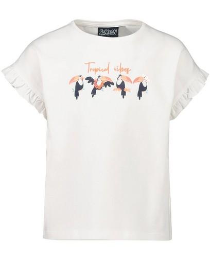 T-shirt en coton bio à imprimé Samson