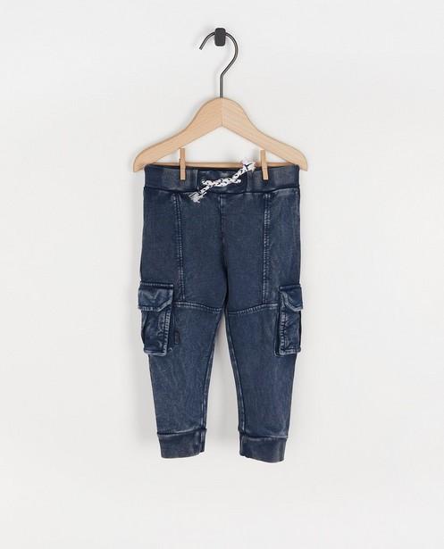 Jogger bleu Feetje - avec des poches à rabat - Feetje