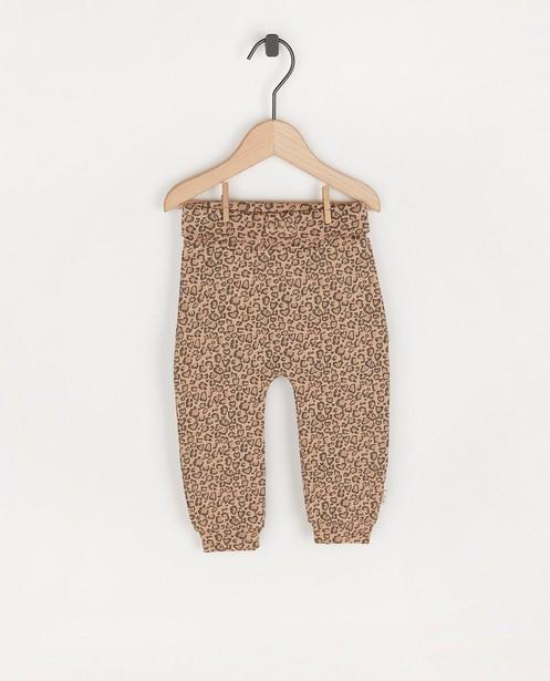 Pantalon à imprimé léopard Feetje - imprimé intégral - Feetje