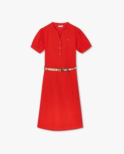 Katoenen jurk met riem Hampton Bays