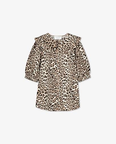 Blouse à imprimé léopard Sora