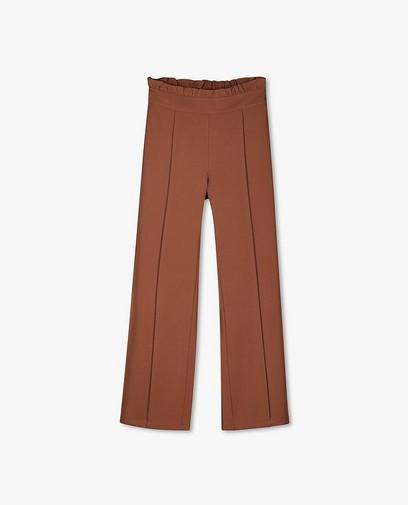 Pantalon palazzo brun Sora