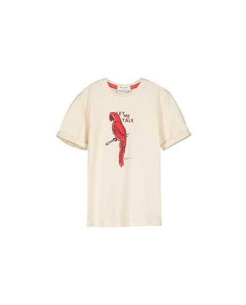 T-shirt à imprimé à perroquet Hampton Bays - en coton bio - Hampton Bays