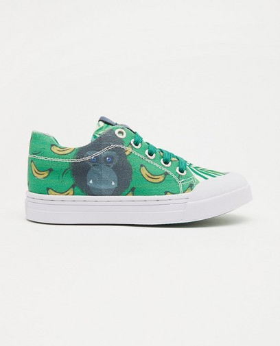 Sneakers met print Go Banana's