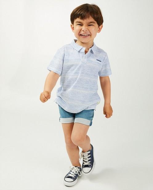 Blauw-wit gestreept T-shirt Wickie - met loose fit - Wickie
