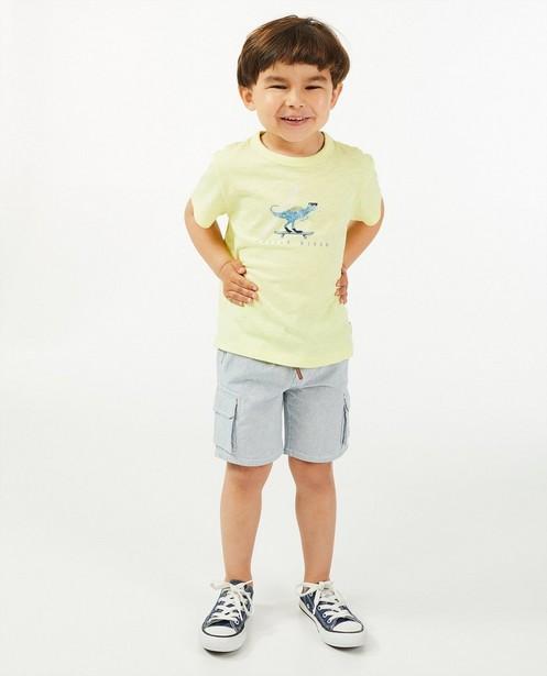 T-shirt en coton bio à imprimé Vic le Viking - coupe ample - Vic le Viking