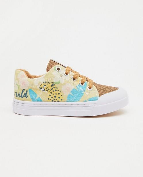 Sneakers met print Go Banana's - met luipaard - Go Bananas!