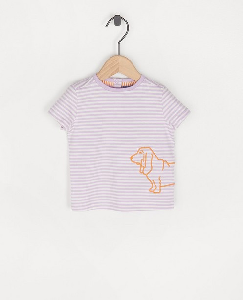 T-shirt en coton bio Atelier Bossier - avec des broderies - Atelier Bossier