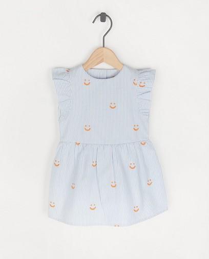 Blauw-witte jurk Atelier Bossier