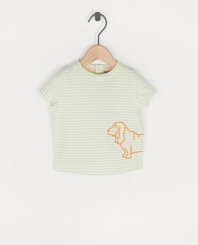 Biokatoenen T-shirt Atelier Bossier