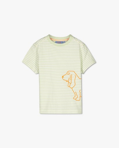 Biokatoenen T-shirt Atelier Bossier, 2-7