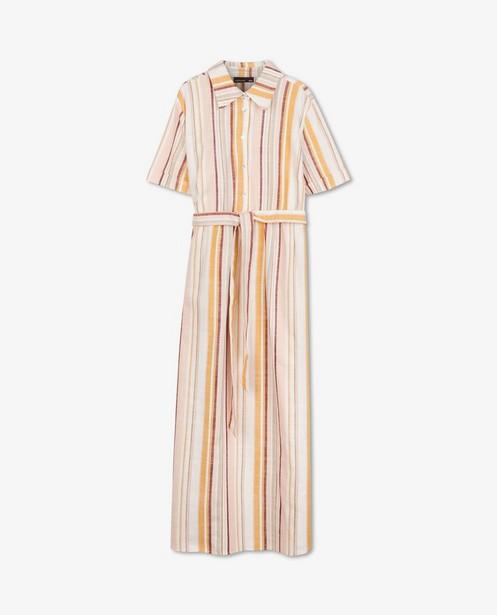 Gestreepte jurk van viscose JoliRonde - zwangerschap - Joli Ronde