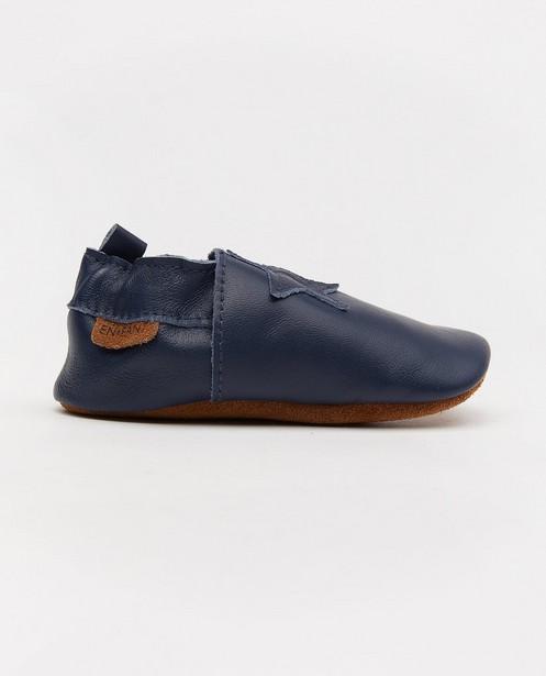 Chaussures bleues en cuir Enfant - avec une étoile - Enfant