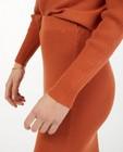 Jupe en tricot orange Sora - près du corps - Sora