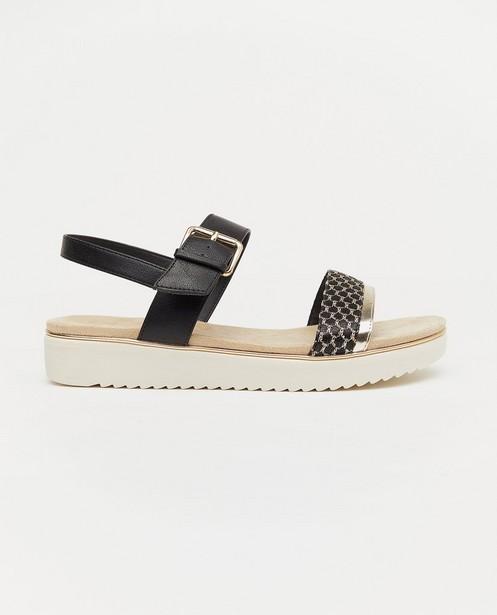 Sandales noires Sprox, pointure 36-41 - avec une boucle - Sprox