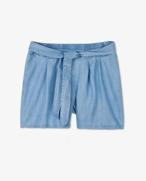 Short bleu en lyocell JoliRonde - grossesse - Joli Ronde