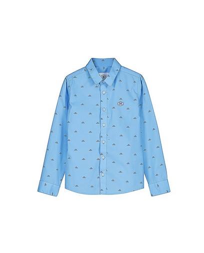 Lichtblauw hemd CKS