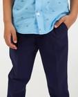 Pantalons - Pantalon bleu CKS