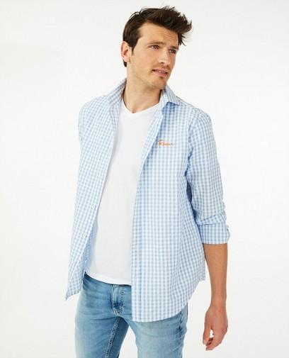 Hemd met vichy ruit Atelier Bossier