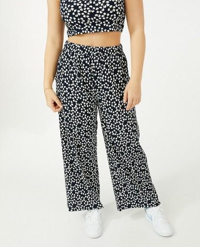 Pantalon bleu Steffi Mercie