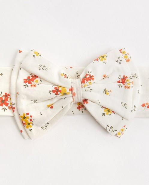 Bonneterie - Bandeau blanc avec nœud