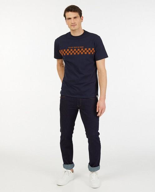 Biokatoenen T-shirt Baptiste (NL) - stretch - Baptiste