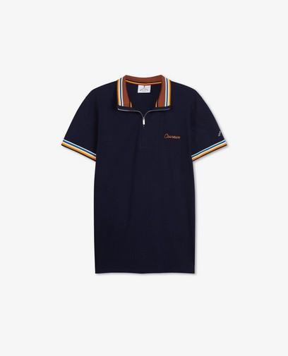 Polo bleu Baptiste