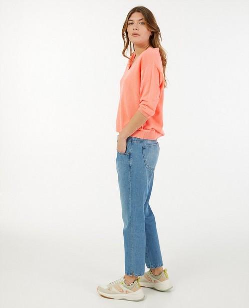 Jeans Mom bleu Mia Sora - mid rise - Sora
