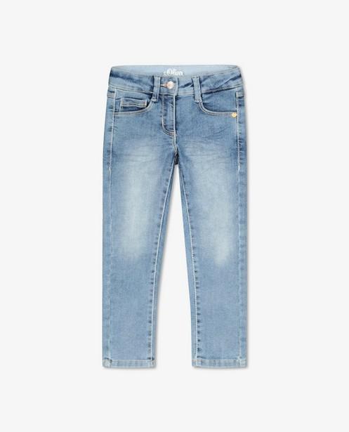 Blauwe slim jeans Kathy s.Oliver - mid rise - S. Oliver