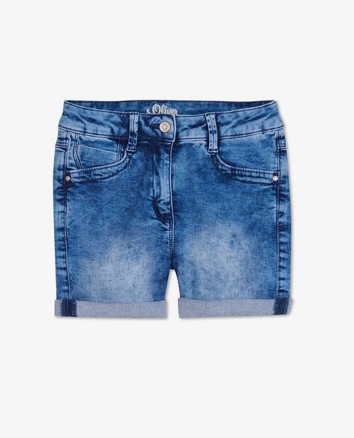 Blauwe short s.Oliver - stretch - S. Oliver